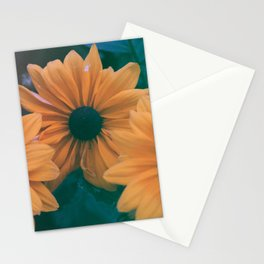 Three Yellow Flowers Kolor Stationery Cards