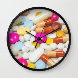 Pills (Color) Wall Clock