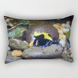 Rock Hopping Frog Rectangular Pillow
