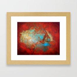 Neo Nautical: Calm Seas Framed Art Print