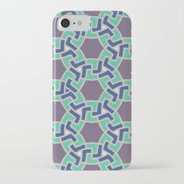 Arabesque: geometric Islamic pattern iPhone Case