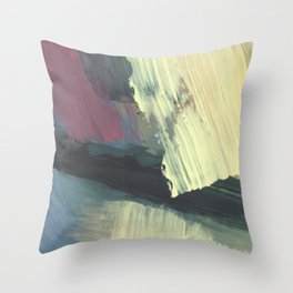 Slotted Together Throw Pillow