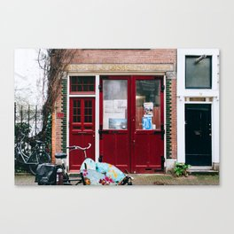 Grachtengordel - Amsterdam, The Netherlands - #4 Canvas Print