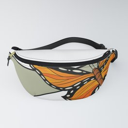 Butterfly Graphic Fanny Pack