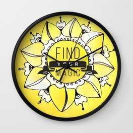 Find Your Magic Wall Clock