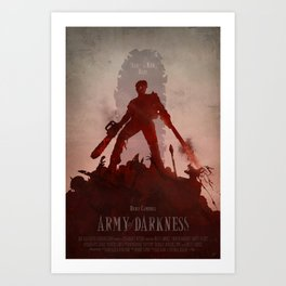 Army Of Darkness Art Print