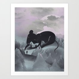I Will Never Leave You Art Print