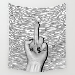 Revenge, relief, rebirth. Wall Tapestry
