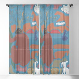 The Universe Weaver, v. 01 Sheer Curtain