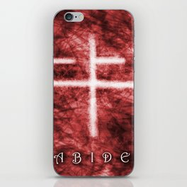 Abide Red iPhone Skin