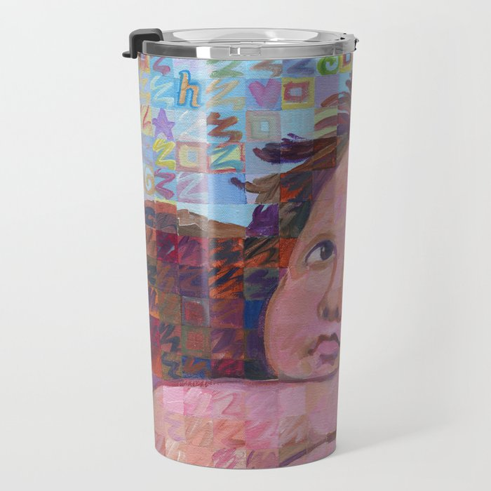 Sistine Cherub No. 2 Travel Mug