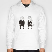 twins Hoodies featuring twins  by Adrian Osorio