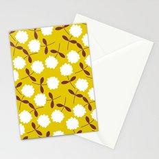 Daisy Mustard Stationery Cards