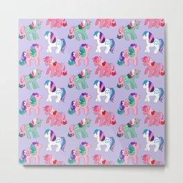 g1 my little pony twinkle eye pattern Metal Print