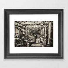 Inside Coldharbour Framed Art Print