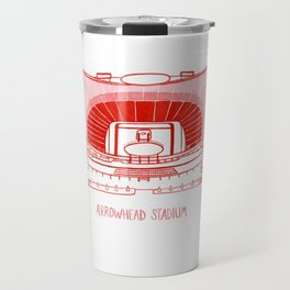 Arrowhead Stadium Travel Mug