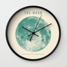 Satellite of the planet Earth  Wall Clock