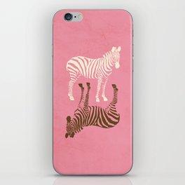 Zebras Pattern iPhone Skin