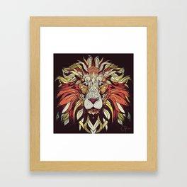 King of Jungle Framed Art Print