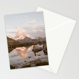 Matterhorn Morning Stationery Cards