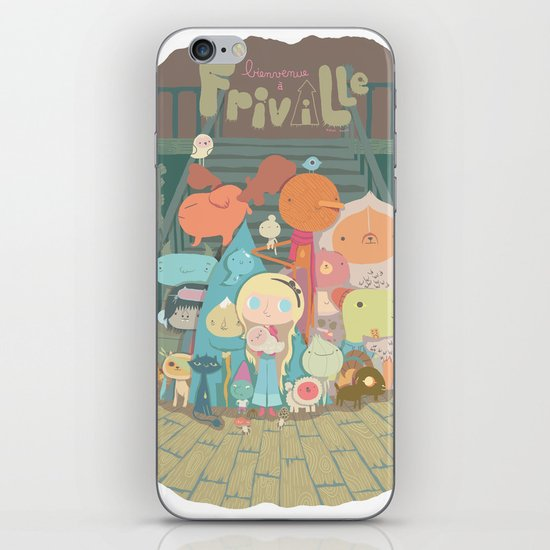frimin iPhone & iPod Skin