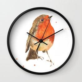 Winter's Herald Wall Clock