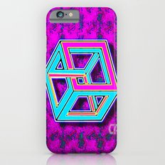 DIFORCE #4 Impossible Rectangle Psychedelic Optical Illusion iPhone 6s Slim Case