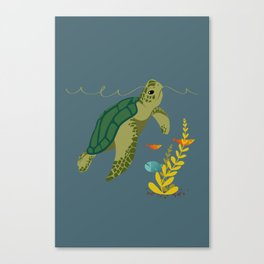 Under The Sea Childrens Print Canvas Print