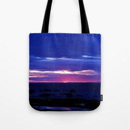 Dusk on the Sea Tote Bag