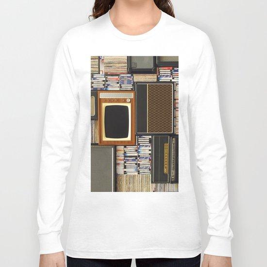 techno vintage Long Sleeve T-shirt