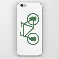 portlandia iPhone & iPod Skins featuring Pacific Northwest Cycling - Bike, Bicycle, Portland, PDX, Seattle, Washington, Oregon, Portlandia by Corrie Jacobs