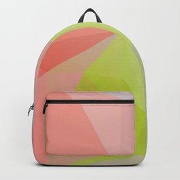 Fresh / Poster, scandinavian, art print, drawings, paintings, illustration, low poly, geometric Backpack