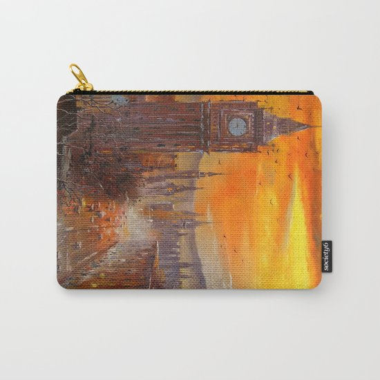 London Evening Carry-All Pouch