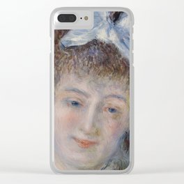 Portrait of Mademoiselle Marie Murer Clear iPhone Case