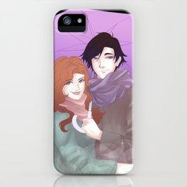 umbrella - mc3 x jumin iPhone Case