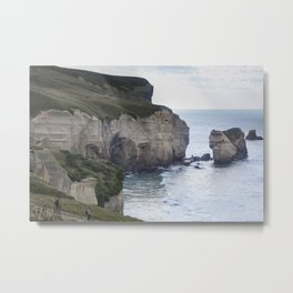 Tunnel Beach Metal Print