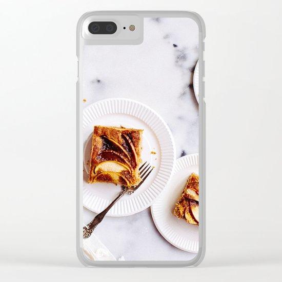dessert time Clear iPhone Case