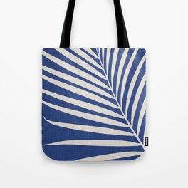 Indigo Palm - Vintage Botanical Tote Bag