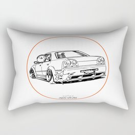 Crazy Car Art 0215 Rectangular Pillow