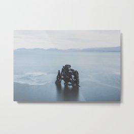 Hvitserkur, Iceland III Metal Print