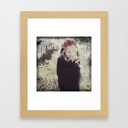 "VAMPLIFIED ""The Seer"" Framed Art Print"