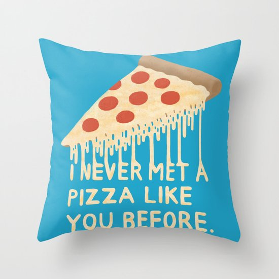 Sweet Pizza Throw Pillow