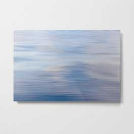 Slow moving water- ocean photography- nautical photography Metal Print