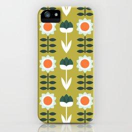 Set Sun Olive iPhone Case