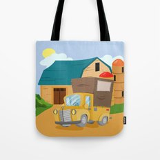 TRUCK (GROUND VEHICLES) Tote Bag