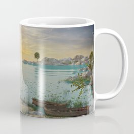 Fantasy Beach Coffee Mug