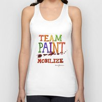 TEAM PAINT MOBILIZE Unisex Tank Top