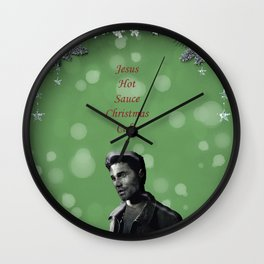 Mike Munroe 2 Wall Clock