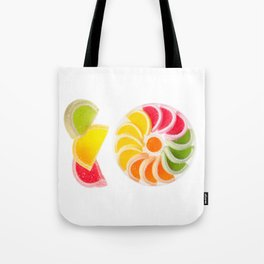 multicolored chewy gumdrops sweets Tote Bag
