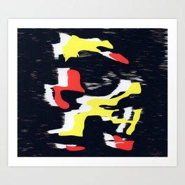 Charred 2 'Belgian' Art Print